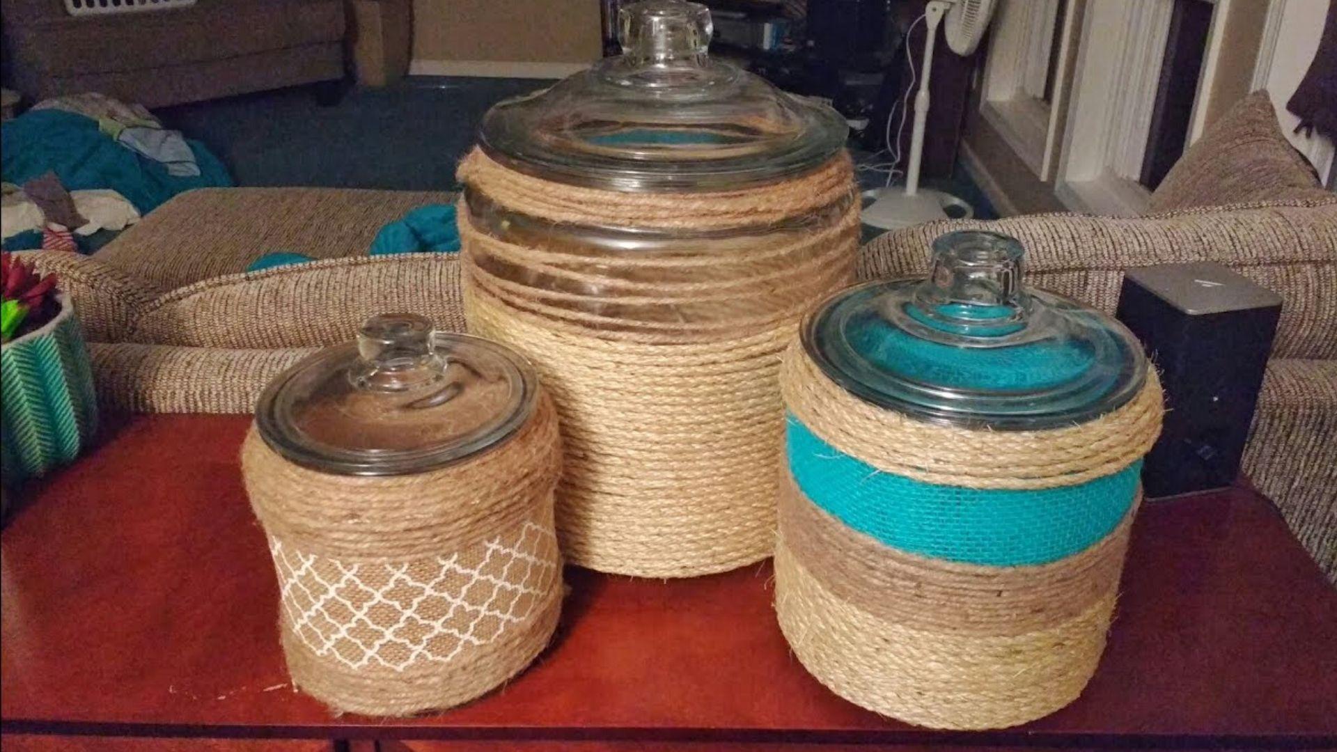 Sisal jars